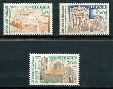 STAMP TIMBRE FRANCE NEUF SERVICE N° 79/81 ** UNESCO / ARCHITECTURE