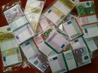 🆕 Set of EURO 💱Souvenir-Banknotes For✨Jokes💁Prankes📹Videos+🆓✈Shippig+Gift🎁