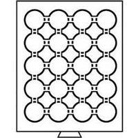 Leuchtturm Münzbox 20 Fächer für CAPS 39, rauchfarben