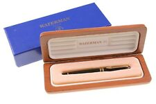 NEW in Box - Waterman Expert Essential Fountain Pen GT Black 23K Gold Nib NWB