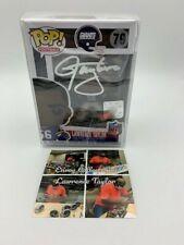 Lawrence Taylor Signed Funko Pop Blue Jersey New York Giants JSA COA Photo Case