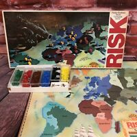Vintage 1980 RISK World Conquest Board Game Parker Brothers #44 Complete
