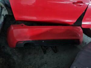 Audi A1 Red Rear Bumper