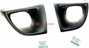 Genuine 2004-2008 Mazda RX-8 Rear Right & Left Bumper Protector Guard Set of 2