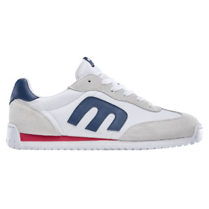 Etnies Skateboard Shoes Lo-Cut CB White/Navy Mens