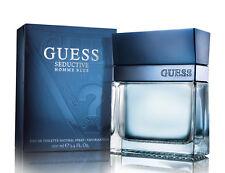 Guess Seductive Homme Blue Cologne Perfume EDT Spray 3.4 oz for Men NIB SEALED