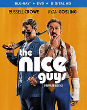 The Nice Guys (Blu-ray)(no dvd no digital)  FREE FIRST CLASS SHIPPING !!!!!