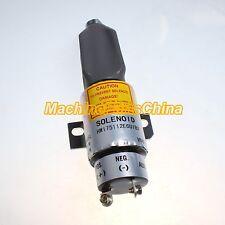Diesel Stop Solenoid Valve 1700-2505 1751-12E6U1B1 For Woodward Shutdown Engine