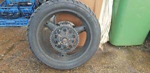 2003 Suzuki GSX750 FK3 1998-2005  Rear Wheel, Tyre, Sprocket & Brake Disc #AE5