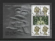GB Stamps 2000 'Her Majesty`s Stamps' sg MS2147 - Fine used