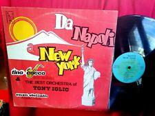 The Best Orchestra Of Tony Iglio Da Napoli A New York LP 197? ITALY MINT- Rare