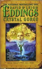 DAVID EDDINGS CRYSTAL GORGE BOOK 3 THE DREAMERS 2005 HARDCOVER 1ST EDITION OOP