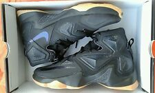 NEW IN BOX NIKE LEBRON JAMES XIII BLACK GUM ANTHRACITE MEN'S SHOE'S SIZE 9