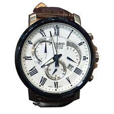 Casio BEM-520BUL-7A3 Men's Brown Leather BESIDE SERIES Watch