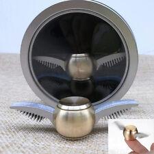 "2.8"" Golden Snitch Fidget Spinner Fans Unique Design With Metal Cylinder Case"