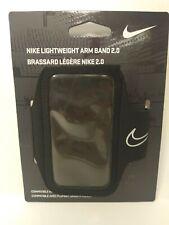 Nike Lightweight Arm Band 2.0 [NRN43001OS] Black/Gray