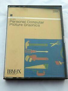 IBM IBM-JX IBMJX AUS NZ JAP Vintage Software 5601-SDN Computer Picture Graphics