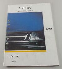 Workshop Manual Saab 9000 Service Model Year 1992