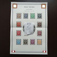 Germany Nazi 1934 1942 Official Stamps MNH Swastika WWII 3rd Reich German
