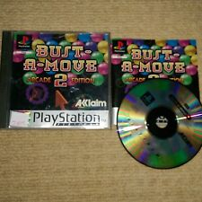BUST A MOVE 2 : ARCADE EDITION  - Rare Sony PS1 Game