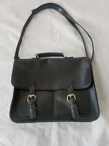 ECOSUSI Vintage Crossbody Messenger Bag Satchel Purse - Black (G166)