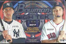 2017 Bowman High TEK Baseball Hobby Box-judge Rc's