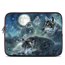 Zipper Sleeve Bag Cover - Bark At The Moon Wolves - Fits Most Laptops + MacBooks