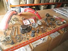 83 Honda XR350 Front Brake Hub Front Fender Ignition Coil CDI Harness Parts Lot