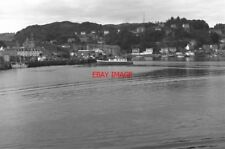 PHOTO  1979 ARGYLL AND BUTE OBAN WHARF THIS WHARF IS NOW KNOWN AS OBAN 'HERITAGE