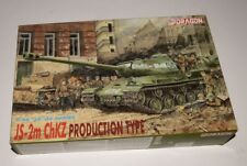 DRAGON 1/35 6018 JS-2M CHKZ production type model kit