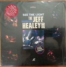 JEFF HEALEY BAND Laserdisc See the Light Live from London Concert JAPAN LD OBI
