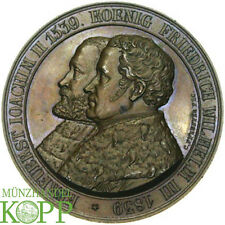 E582) Brandenburg-Preußen Bronzemedaille 1839 Friedrich Wilhelm III. 1797-1840