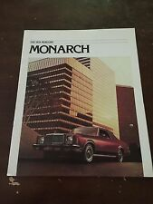 1978 Mercury Monarch Car Auto Dealership Advertising Brochure