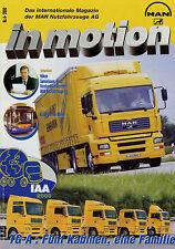 MAN in Motion 4/00 2000 Magazin MAN Nutzfahrzeuge AG BVG RVD Rosenbauer TG-A