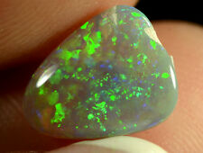 Crystal Opal Australian natural solid 1.35ct very bright amazing rich colour gem
