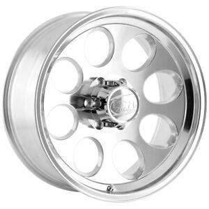 """Ion Wheels 171 17x9 6x5.5"""" +0mm Polished Wheel Rim 17"""" Inch"""