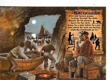 CORNWALL - SMUGGLERS COLOUR POSTCARD