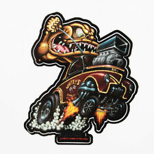 Zombie Hot Rod Wear Willys Gasser DRAGSTER MONSTER v8 Adesivo Sticker Decal