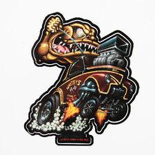 Zombie Hot Rod Wear Willys Gasser Dragster Monster V8 Aufkleber Sticker Decal