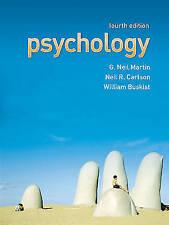 Psychology, Good Condition Book, Dr G. Neil Martin, Neil R. Carlson, William Bus