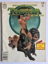 Marvel Comics Super Special - Tarzan of the Apes #29 (Jul 1984, Marvel)