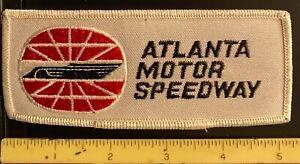 Embroidered Sew On Patch ~ NASCAR ~ Atlanta Motor Speedway ~ Auto Racing