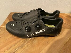 Mens Specialized S-Works 7 road shoes 45.5 Black S Works