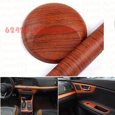 45cm X 120cm Wood Grain Texture Car Autos Vinyl Wrap Sticker Decal Film Rosewood