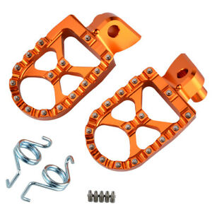CNC Wide Foot Pegs Footrest For KTM 950 990 1050 1090 1190 1290 Adventure Enduro