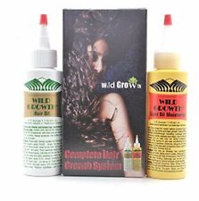 WILD GROWTH HAIR CARE SYSTEM 4 OZ HAIR OIL / 4 oz HAIR OIL MOISTURIZER PICK ANY.