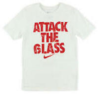 Nike Attack the Glass Men's Dri-FIT Cotton Basketball Shirt White Red 644598-100