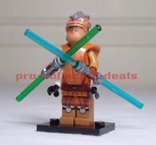 Star Wars Pong Krell Minifigure +Stand The Clone Wars Mandalorian Jedi FREE SHIP