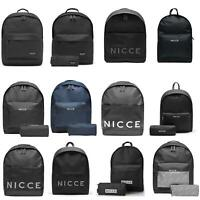 NICCE London Backpack Messenger Cross Body Bags Assorted Styles