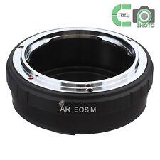 AR-EOS M Konica AR Lens to Canon EOS M EF-M M1 M2 Mirrorless Camera Adapter